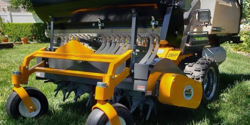Aeration & Overseeding Lawn Care Service